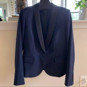 J.Crew Wool-blend Tuxedo Blazer
